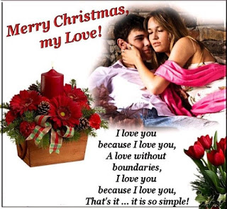 I love you messages/images for Christmas