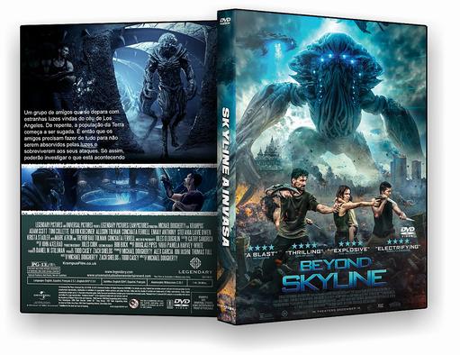 DVD-R SKYLINE A INVASÃO – OFICIAL -BAÚ DO JF HD