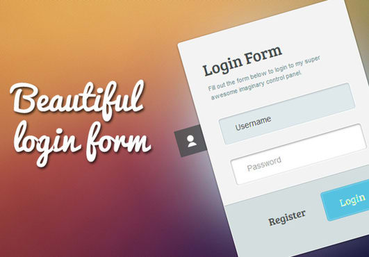 Attractive Login Form