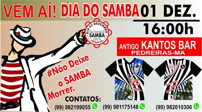 Vem comemorar o dia do samba no antigo Kantos Bar