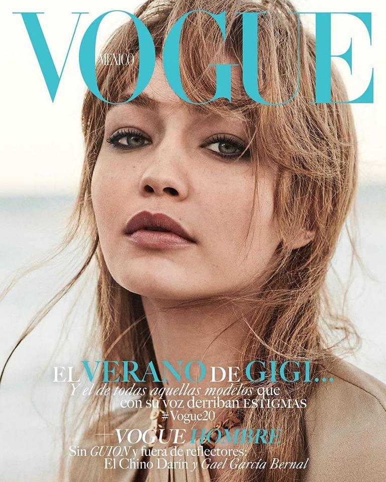 Gigi Hadid for Vogue Mexico June 2019