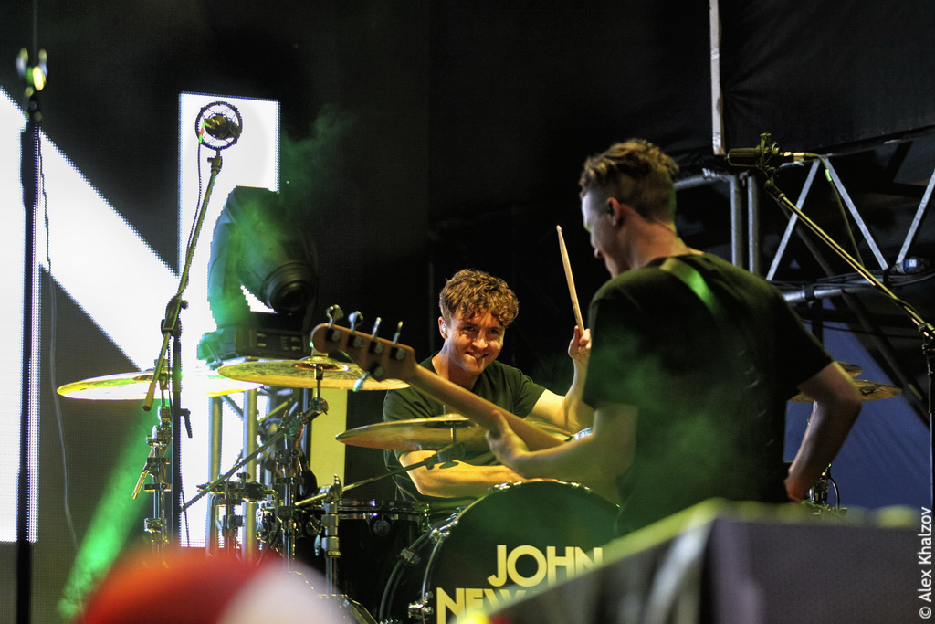 John Newman на Bosco Fresh Fest 2017