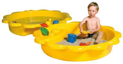 zonnebloem zandbak en plonsbad