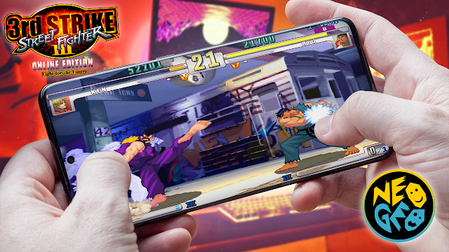 Street Fighter III: 3rd Strike Para Teléfonos Android (ROM NEOGEO)
