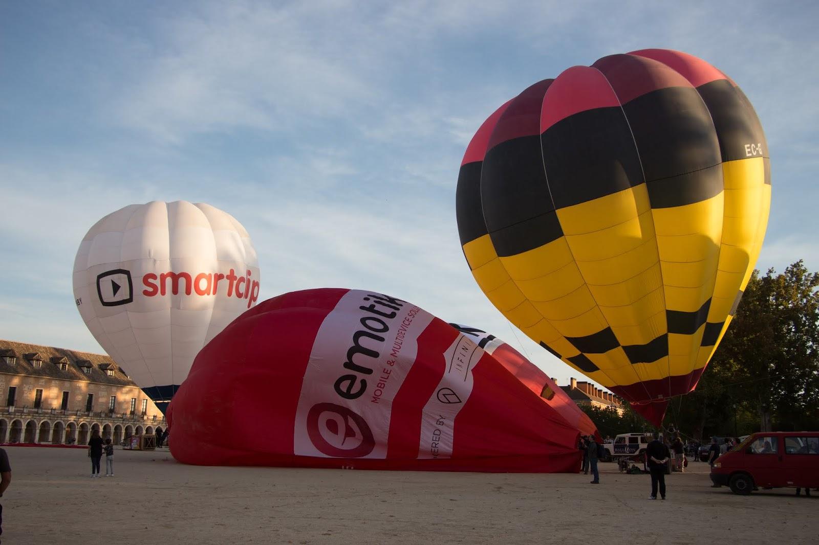 Festival de Globos aerostáticos de la Villa de Aranjuez 2019