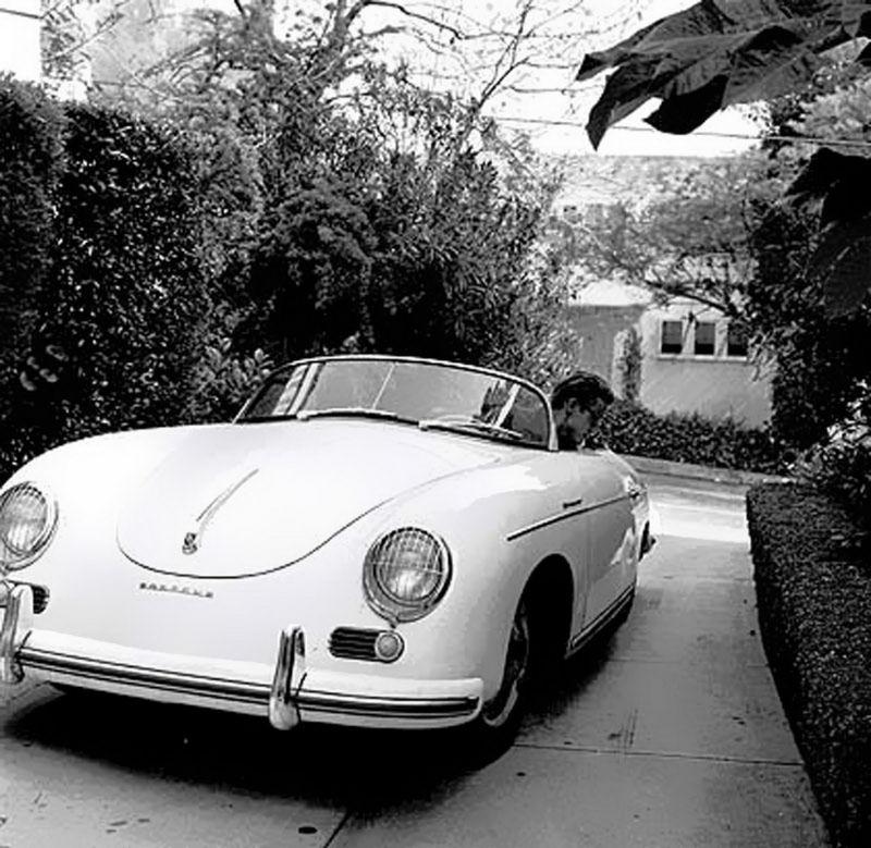 James Dean Porsche >> James Dean Washing His 1955 Porsche 356 Super Speedster In