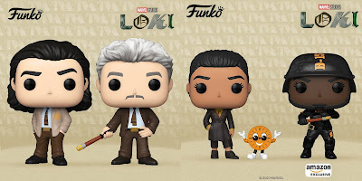 Loki Pop! Marvel Series 1 Vinyl Figures by Funko
