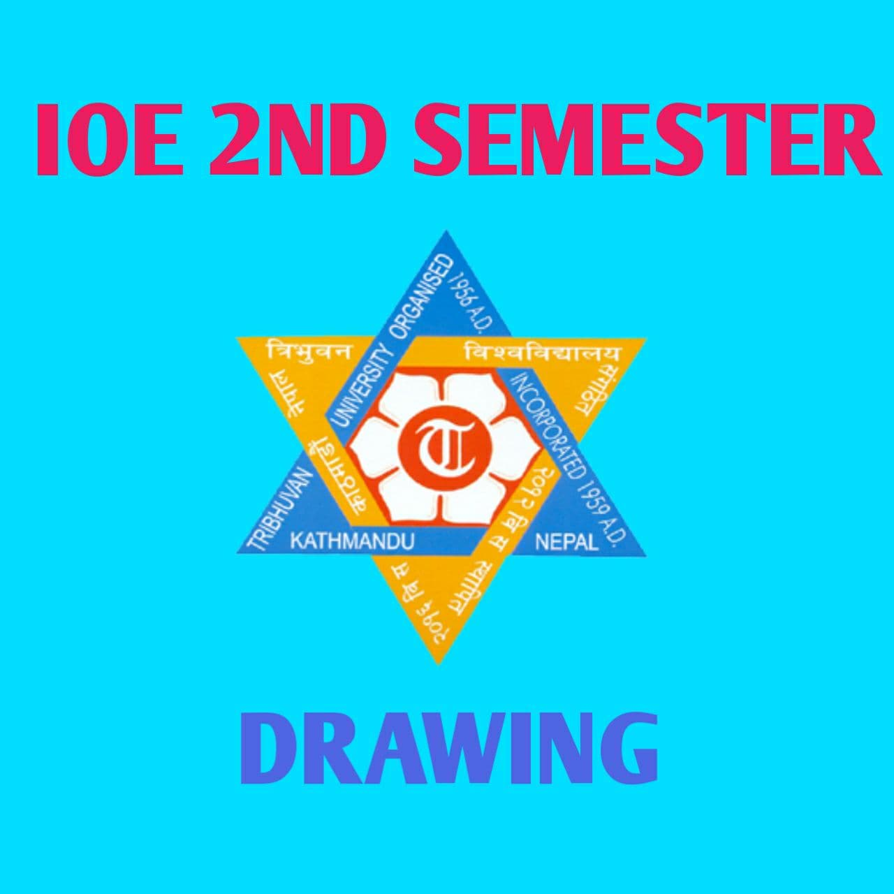 2nd semester Drawing Solution Book