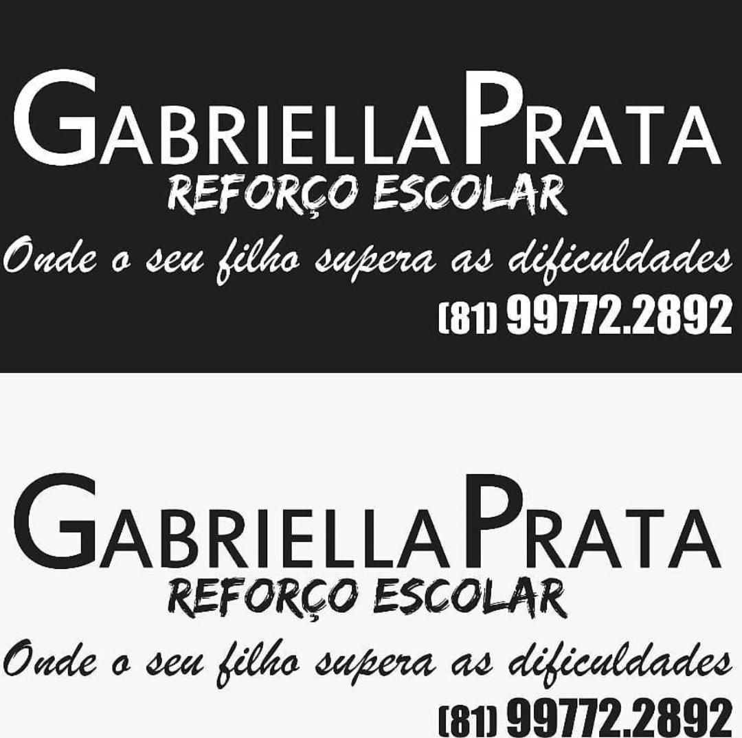 REFORÇO ESCOLAR GABRIELLA PRATA