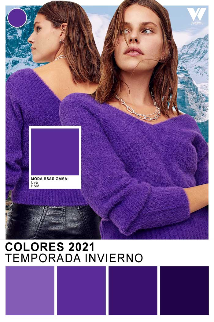colores otoño invierno 2021 moda invierno 2021 uva