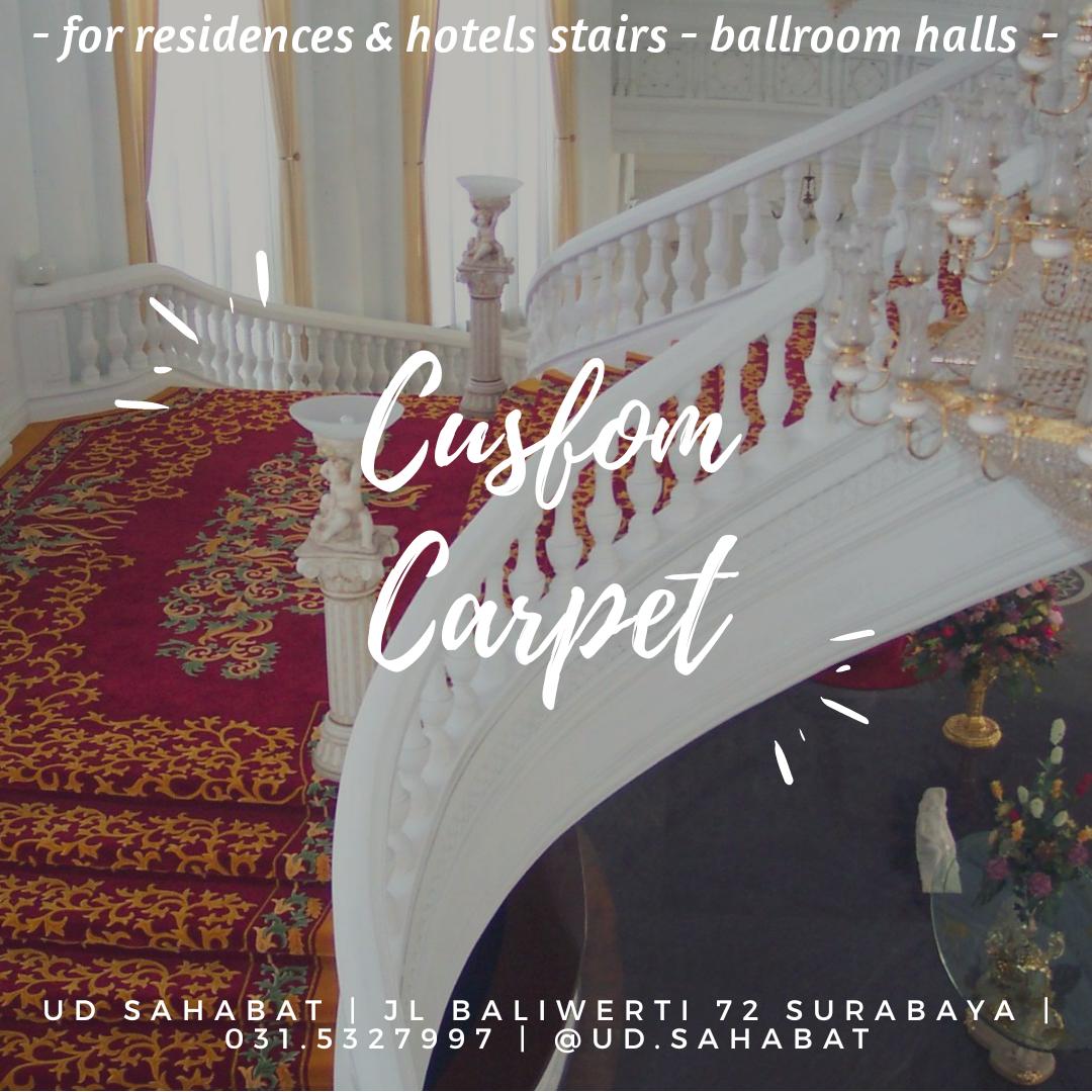 jual karpet custom