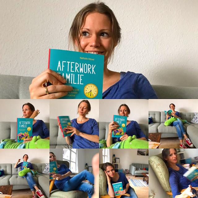 """Rituale, Routinen und richtig viel Humor: Nathalie Klüvers neues Buch """"Afterwork Familie"""". Ein Ratgeber für alle Eltern mit wenig Zeit und viel Familienleben."""