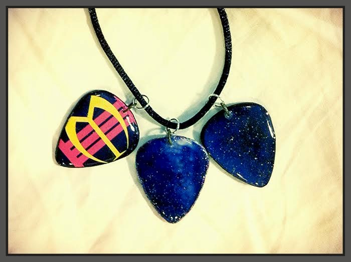 Berlin Guitar Pick Necklace
