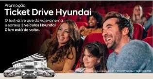 Cadastrar Promoção Hyundai 2020 Ganhe Vale Cinema e Concorra 3 Carros - Ticket Drive