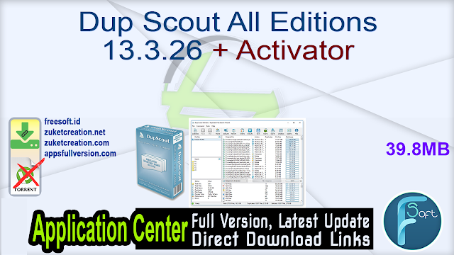 Dup Scout All Editions 13.3.26 + Activator