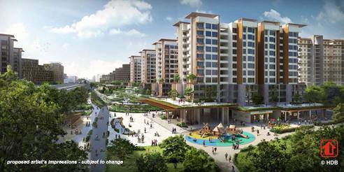 Pasir Ris MRT Mixed Development - Town