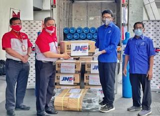 JNE Kumpulkan Donasi dan Kirim Tabung Oksigen Gratis untuk Rumah Sakit di Seluruh Indonesia