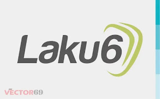 Logo Laku6 - Download Vector File SVG (Scalable Vector Graphics)