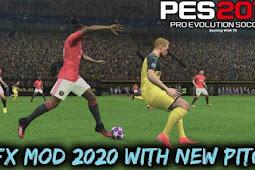 GFX Mod + New Pitch 2020 - PES 2017