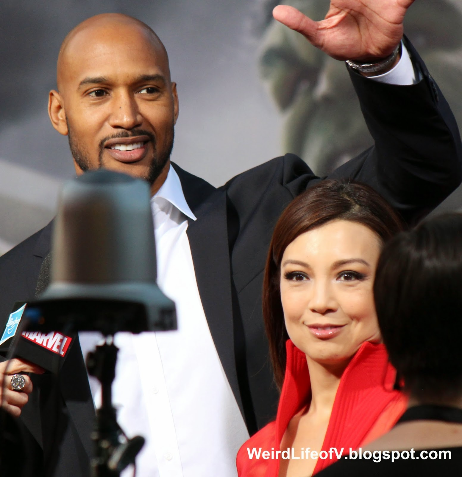 Henry Simmons and Ming-Na Wen