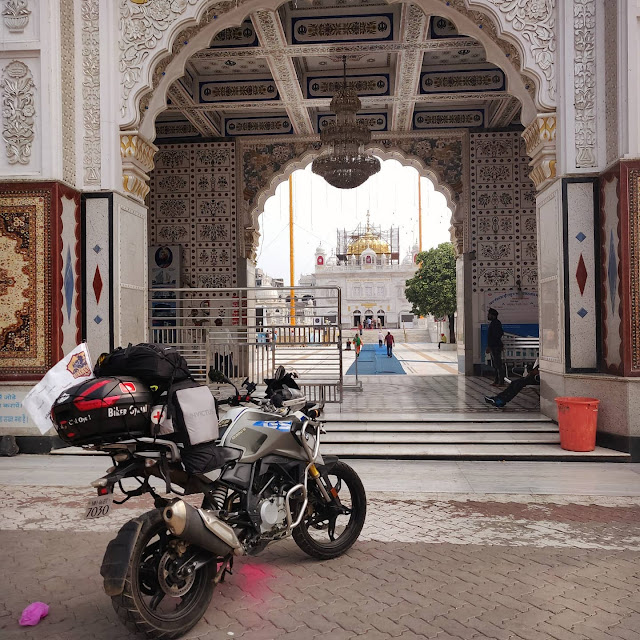 First to Travel All Five Takhts of Sikhism Solo On a Motorcycle By Abhijit Singh Kohli