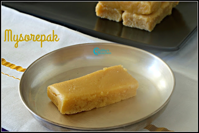 Krishna Sweets style Mysorepak  that melts in your mouth