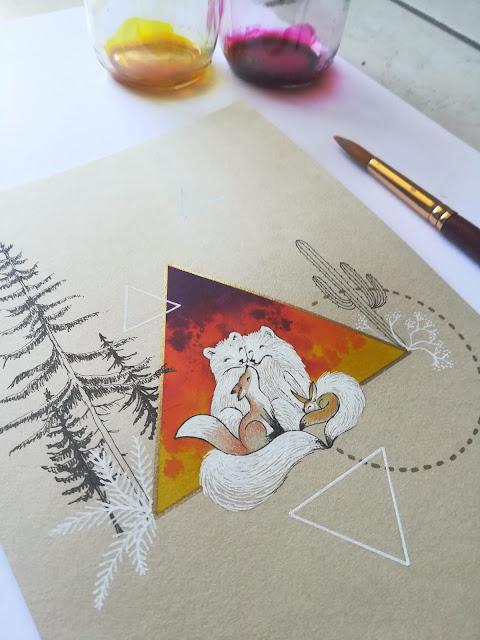 SeL illustration, La famille renard d'Arthur