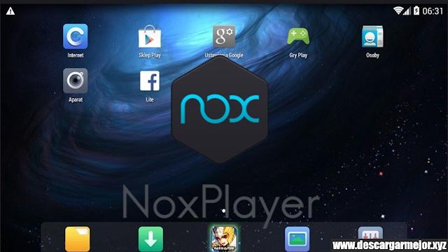 Descargar Emulador Nox Player