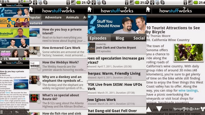 howstuffworks android app