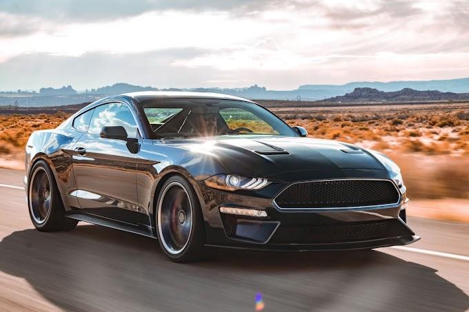 Ford Mustang Bullitt 'Steve McQueen Edition'