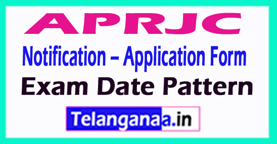 APRJC Notification – Application Form Exam Date Pattern