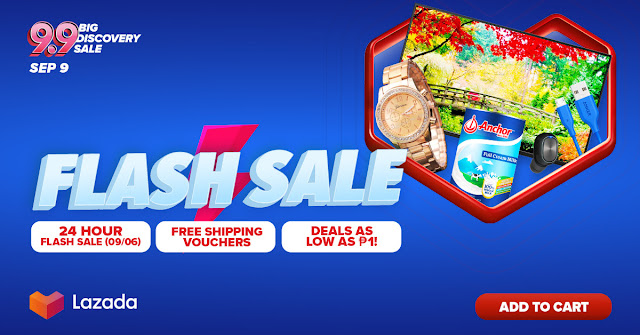 Lazada 9.9 Flash Sale