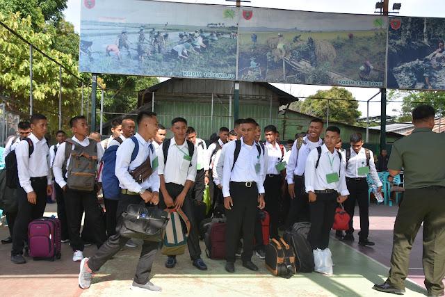 46 Orang Cata PK TNI AD Sub Panda Bone Berangkat Ke Pakkatto