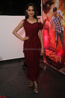 Pragya Jaiswal in Stunnign Deep neck Designer Maroon Dress at Nakshatram music launch ~ CelebesNext Celebrities Galleries 014.JPG