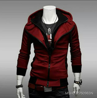 Men's Hooded Cardigan Sports Leisure Jacket