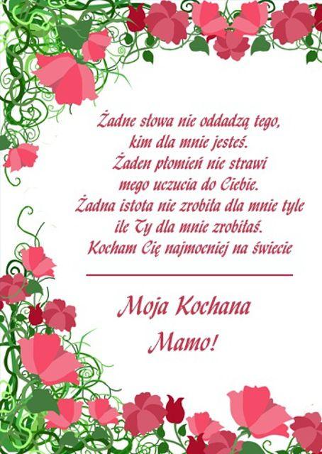 Dzień Matki – Sto Lat