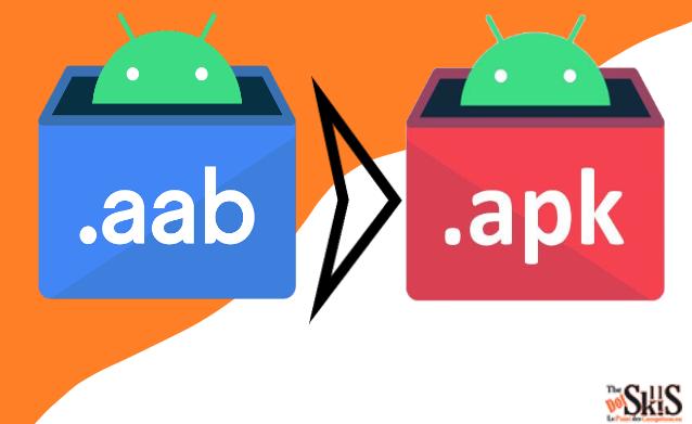 Le format AAB remplacera APK pour les applications Android sur Windows 11.