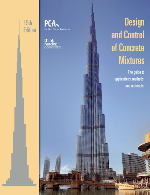 Design And Control Of Concrete Mixtures - Engineering Books