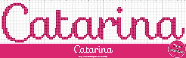 Nome Catarina em Ponto Cruz