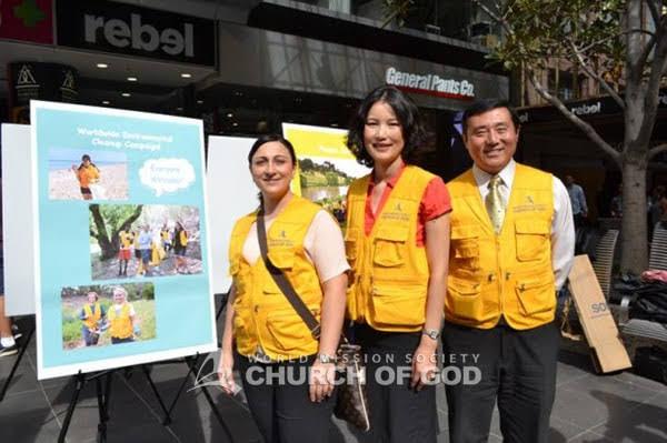 Litter Prevention Brightens Bourke Street
