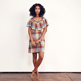 Ace & Jig Clifton Dress in Madras