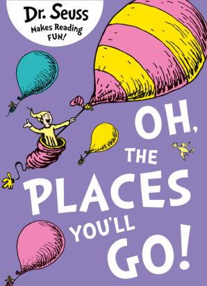 Dr seuss the places you ll go book