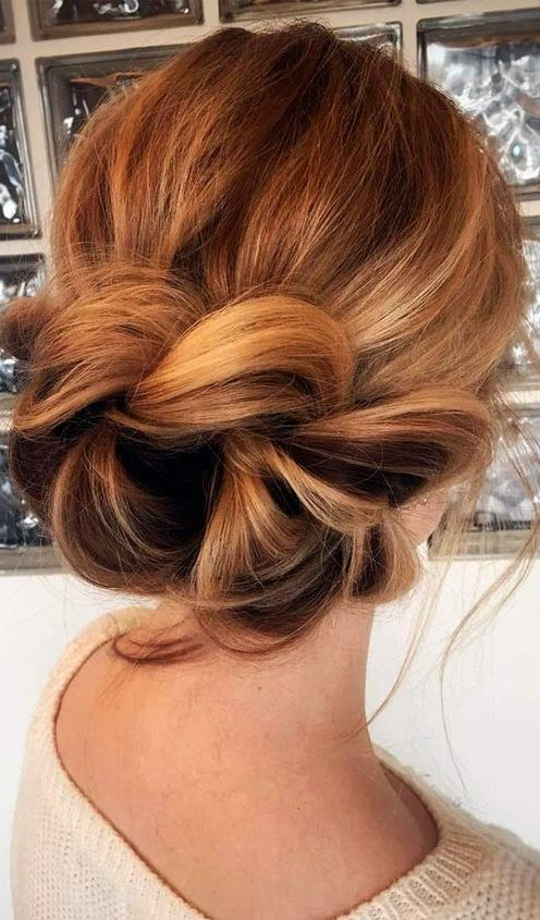 Romantic Updo-Hairstyles for Thin Hair