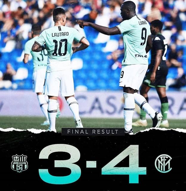 Sassuolo vs Inter - IGinter_fans_forever