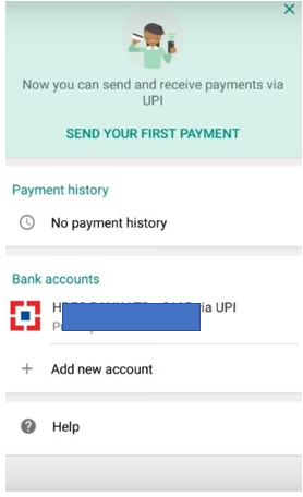 send you first payment on Whatsapp