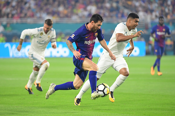 Messi Running With The Ball