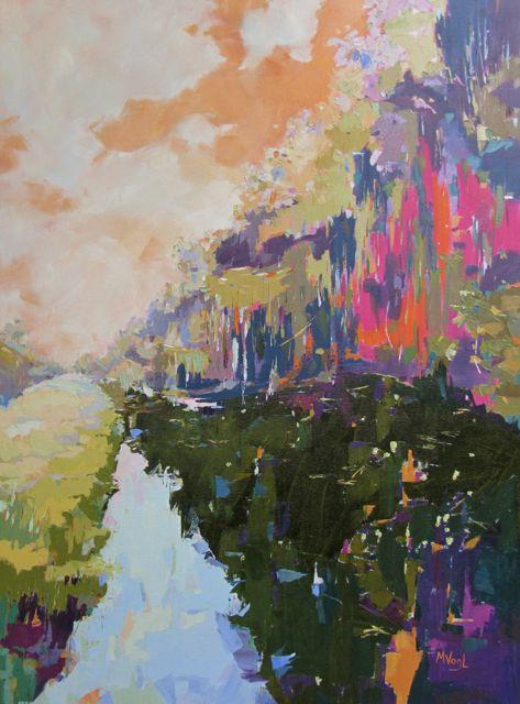 Marissa Vogl Fine Art Abstract Modern Painting Sweet Temper