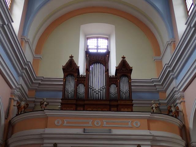 Gidelskie organy (kościół kartuzów)