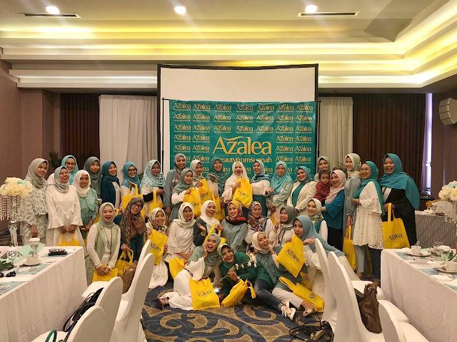 Bandung Hijab Blogger, Azalea Beauty Hijab, Azalea