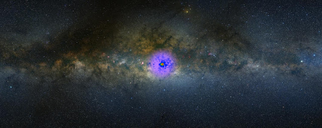 Origin of Milky Way's hypothetical dark matter signal may not be so dark